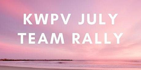 KWPV July Team Rally! tickets