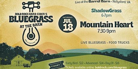 Bluegrass at the Barn: Mountain Heart ft. ShadowGrass tickets