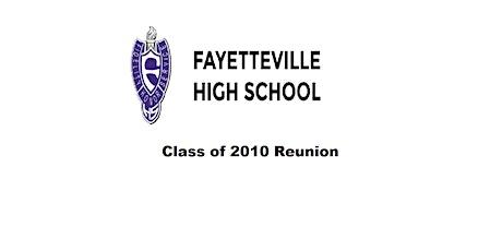 FHS Class of 2010 Reunion tickets