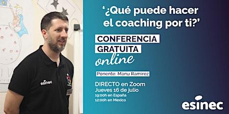 ¿Qué puede hacer el coaching por ti? Taller online Gratis entradas