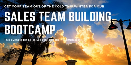 Sales Team Building Bootcamp tickets