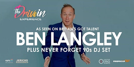 BEN LANGLEY LIVE at Stowmarket Drive-In Experience tickets
