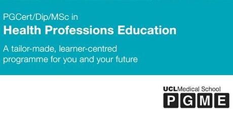 Educating health professionals – progressing your career through UCL's MSc tickets