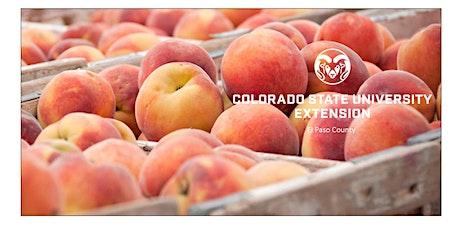 Western Slope Organic Peach Sale tickets