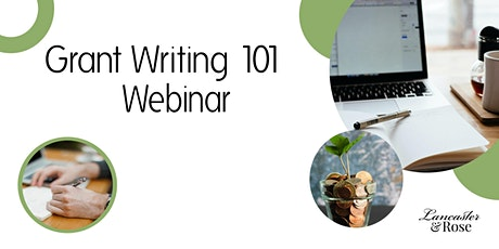 Grant Writing 101 Class: Webinar tickets