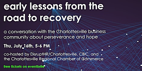Early Lessons from the Road to Recovery tickets