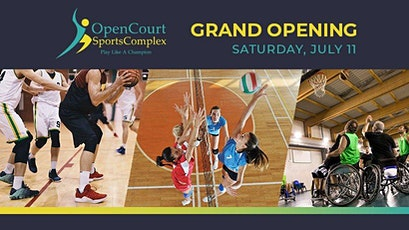 Open Court Sports Complex Grand Opening tickets