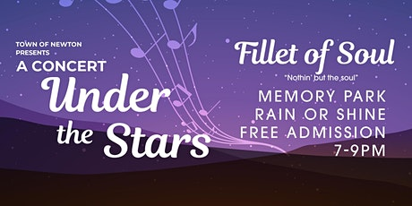 Concerts Under the Stars: Fillet of Soul tickets