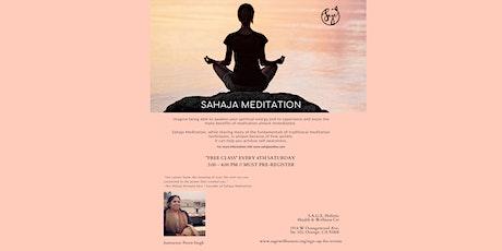{ONLINE FREE} Sahaja Meditation Tickets