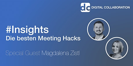 #Insights - Die besten Meeting Hacks Tickets