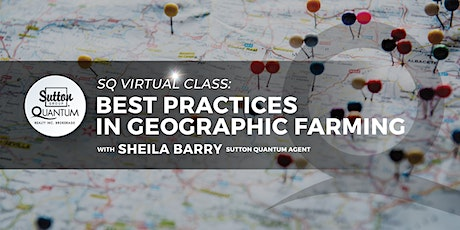 Virtual: Best Practices in Geographic Farming with Sheila Barry tickets