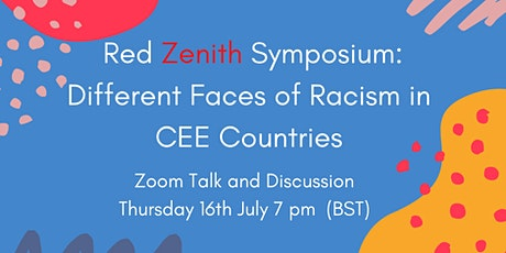 Red Zenith Symposium: Different Faces of Racism in CEE Countries tickets
