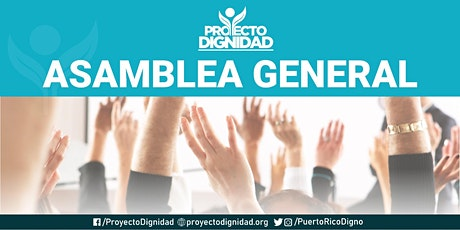 ASAMBLEA GENERAL: VOTO DIGNO 2020 tickets