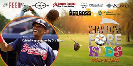 Champions FORE Kids Charity Golf Tournament tickets