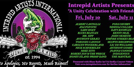 Intrepid Artists Virtual Music Festival Watch Party tickets