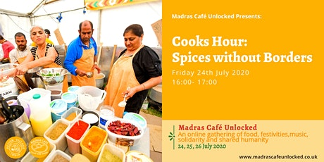 Cooks Hour: Spices without Borders tickets