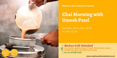 Chai Morning with Umesh Patel tickets