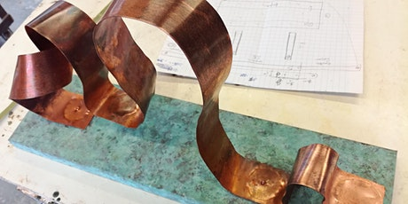 Sheet Copper Sculpture (Thurs-Sun, 12th- 15th Aug 2021) tickets
