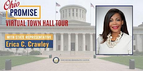 Representative Erica C. Crawley Ohio Promise Virtual Town Halls tickets