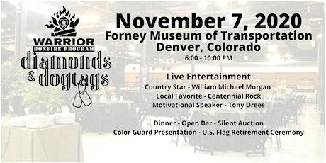 2020 Diamonds & Dogtags Colorado! tickets