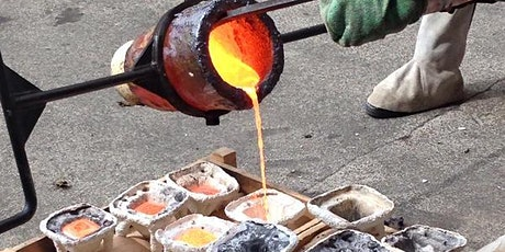 Bronze Casting Course (10, 11,12  & 17, 18, 19th Sept 2021) tickets