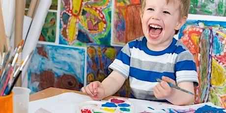 Clase de Arte para niños entradas