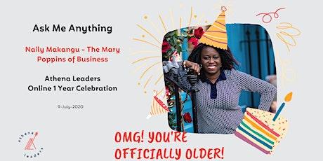 Ask Me Anything - Athena Leaders Entrepreneurship Journey tickets