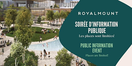 Royalmount - Soirée d'information  - Information Session tickets