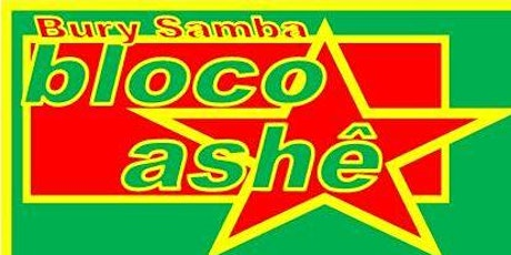 Bloco Online Samba Percussion Workshops tickets