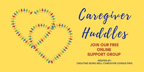 Caregiver Huddles tickets