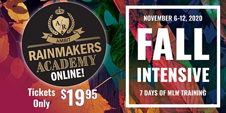 Rainmakers Academy Fall Intensive tickets