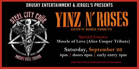 Steel City Crue - A Tribute to Motley Crue tickets