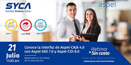 Conoce la interfaz de Aspel-CAJA 4.0 con Aspel-SAE 7.0 y Aspel-COI 8.0 boletos