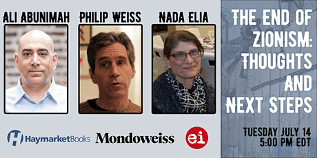 The End of Zionism: Thoughts and Next Steps tickets