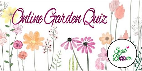 Online Garden Quiz tickets