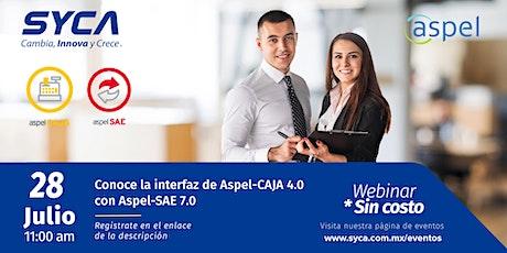 Conoce la interfaz de Aspel-CAJA 4.0 con Aspel-SAE 7.0 boletos