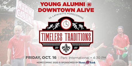 Young Alumni Downtown Alive Social tickets