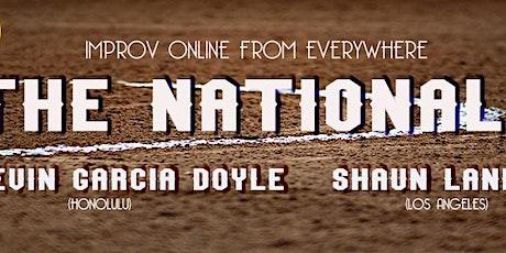 The Nationals Improv Comedy Live! tickets