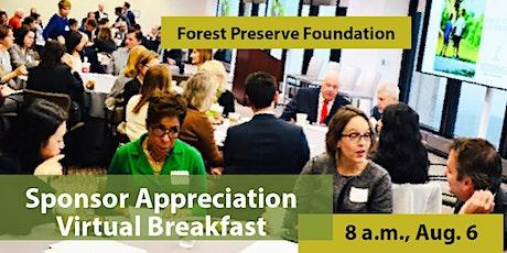 Sponsor Appreciation Virtual Breakfast tickets