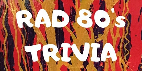 80's Pop Culture trivia (online) with Chicago Trivia Guys! tickets
