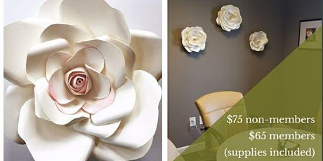 Paper Flower Workshop - Hybrid Virtual or On-site tickets