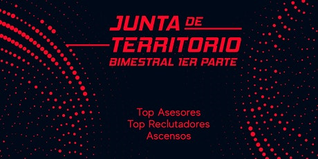 Junta de territorio bimestral mayo-junio  Parte 1 bilhetes
