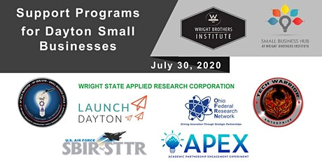 WBI Virtual Collider - Support Programs for Dayton Small Businesses tickets