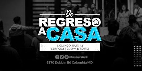 DOMINGO JULIO 12 @ 4:00PM tickets