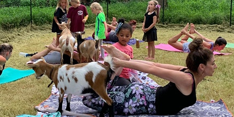 Morning Goat Yoga! tickets