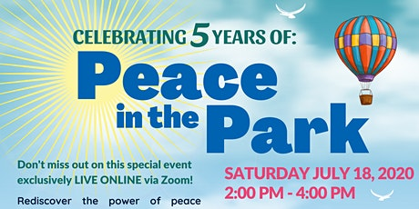 Peace in the Park - Toronto tickets