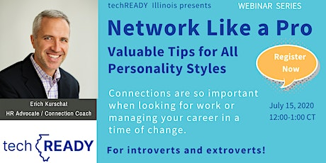 Network Like a Pro: Valuable Tips For All Personality Styles tickets