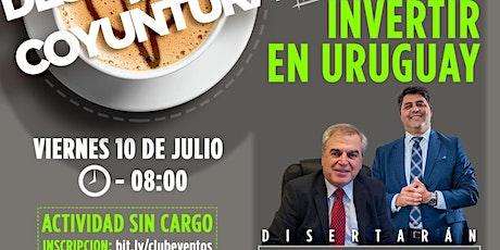 CLUB DE LA LIBERTAD - DESAYUNO - INVERTIR EN URUGUAY entradas