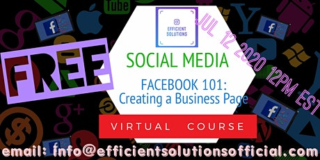 Facebook 101: Creating  a Business Page tickets