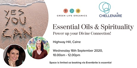 Essential Oils & Spiritualty. Power up Your Divine Connection! tickets